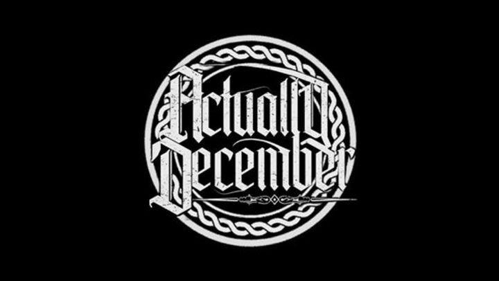 ActuallyDecember Tour Dates