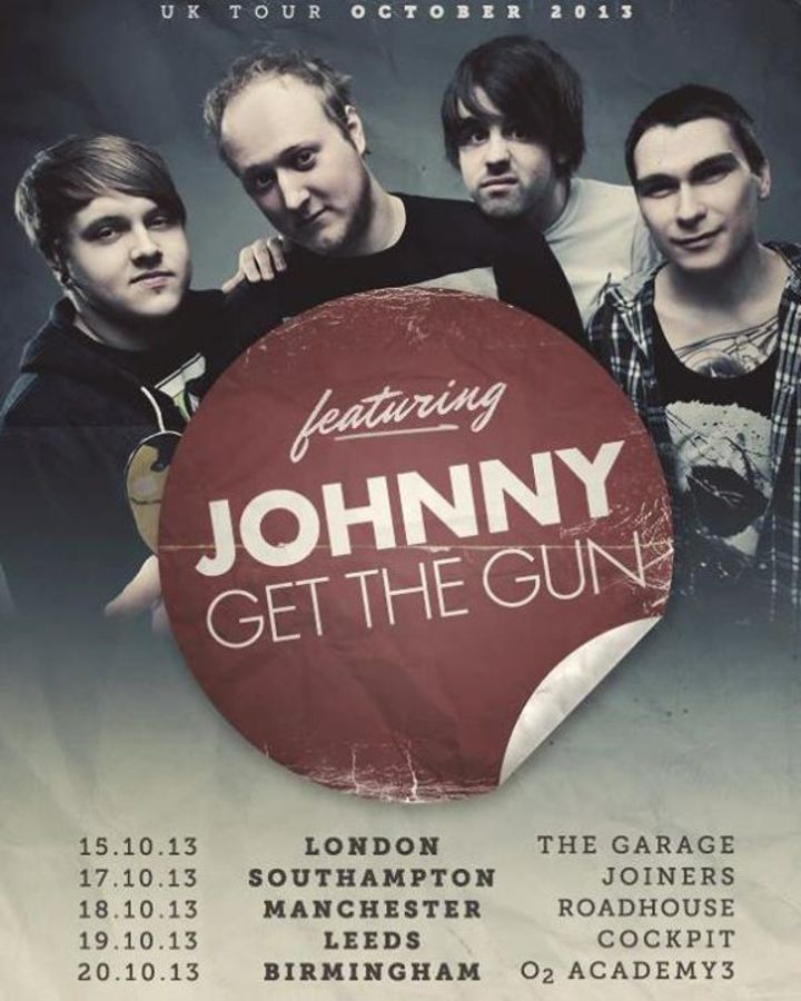 Johnny Get The Gun Tour Dates