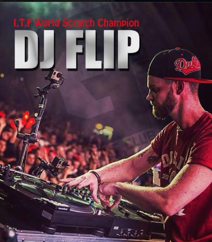 DJ Flip (I.T.F World Scratch Champion) Tour Dates