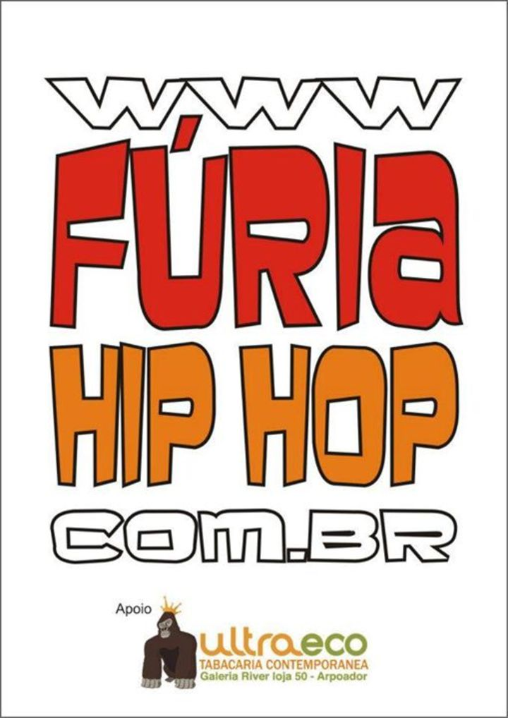 FÚRIA HIP HOP Tour Dates