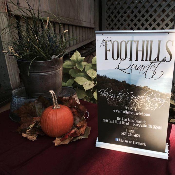 The Foothills Quartet @ Mt Zion Baptist Church - Maryville, TN