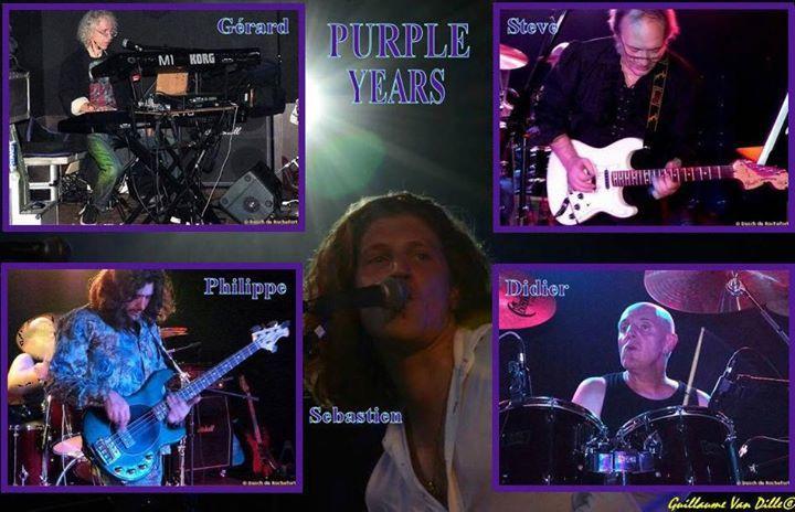 PURPLE YEARS Tour Dates