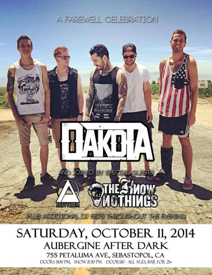 Dakota Tour Dates