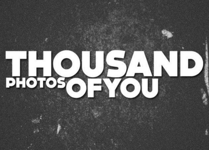Thousand Photos of You Tour Dates