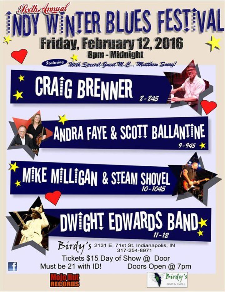 Indy Winter Blues Fest Tour Dates