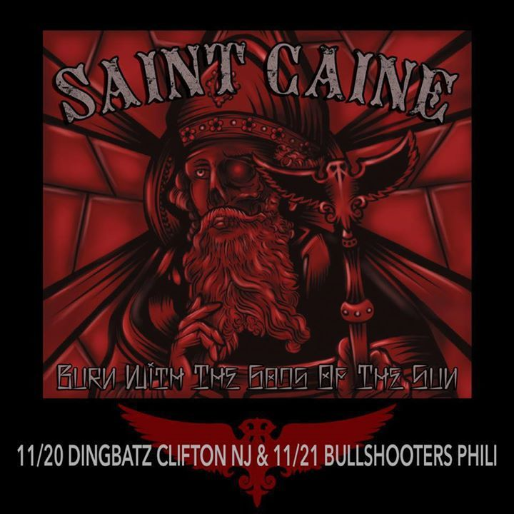 Saint Caine Tour Dates