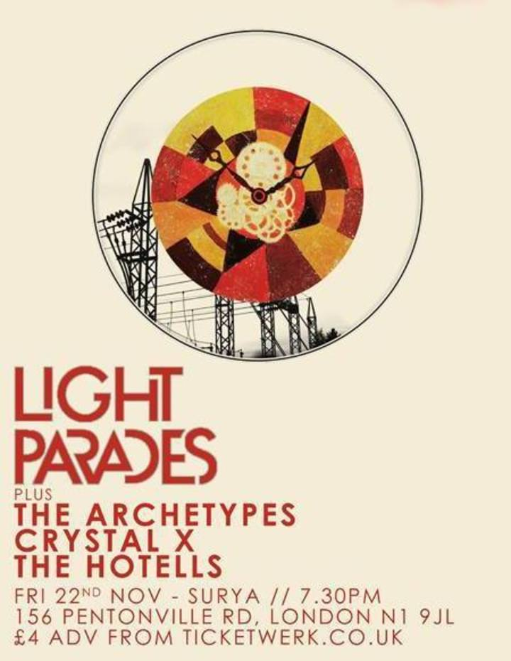 Light Parades Tour Dates