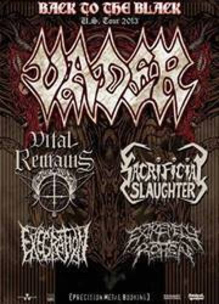 Execration Tour Dates