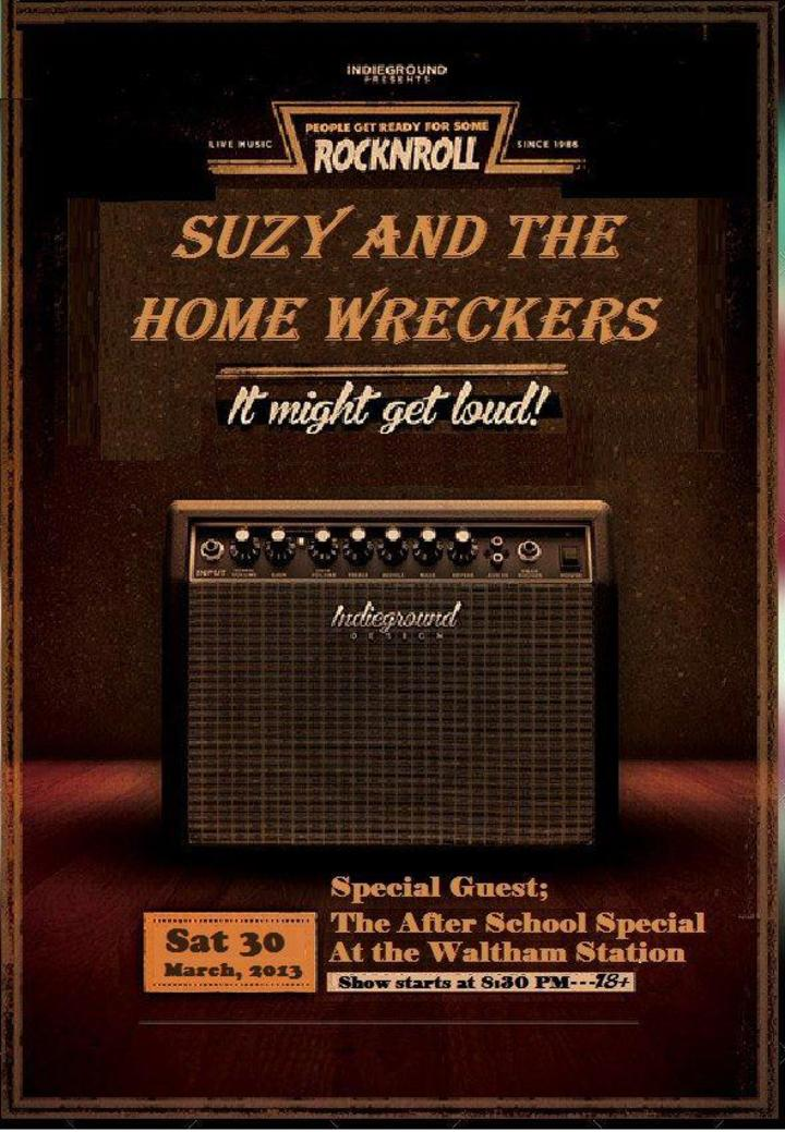 Suzy and the Home Wreckers Tour Dates