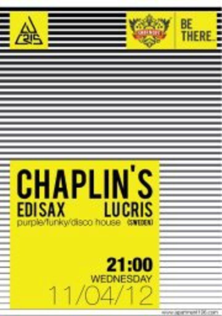 Chaplin's Tour Dates