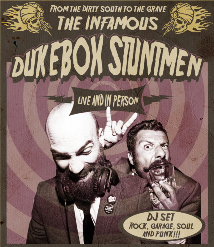 The Dukebox Stuntmen Tour Dates