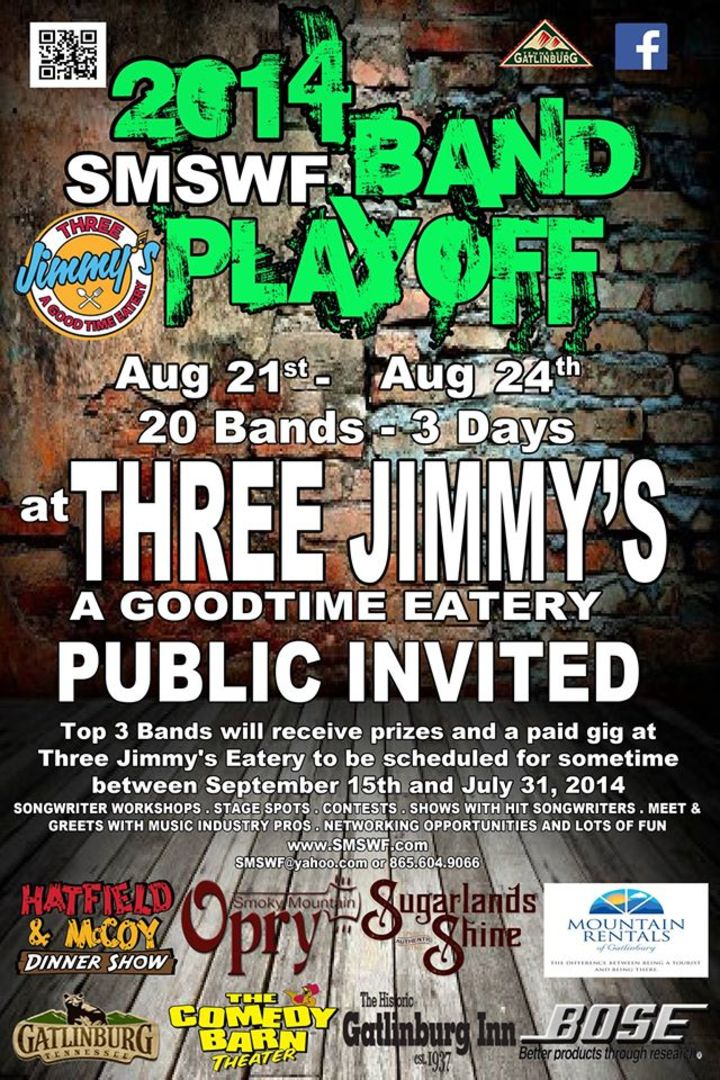 SMSWF BAND PLAYOFF Tour Dates