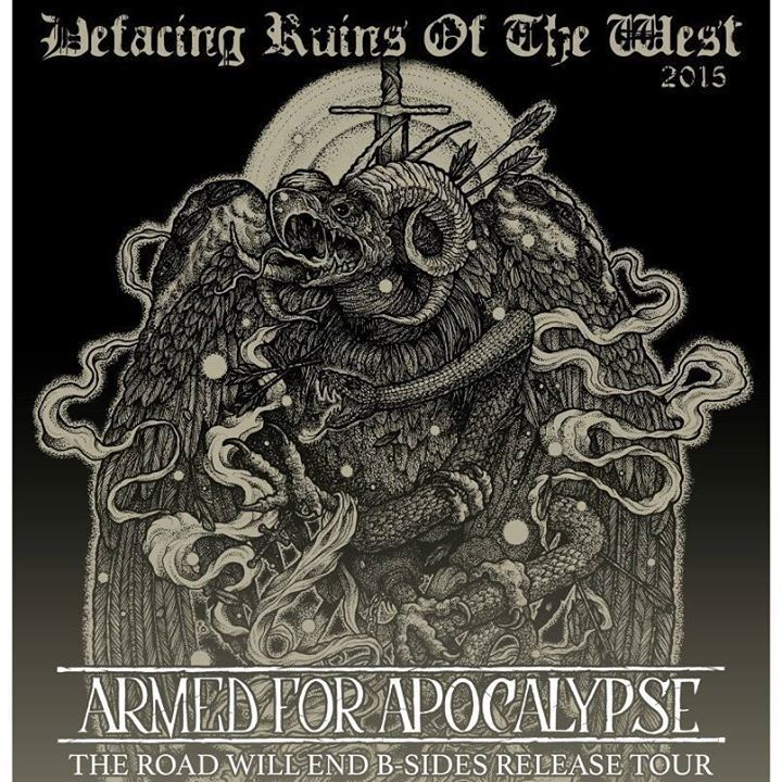 Armed for Apocalypse Tour Dates