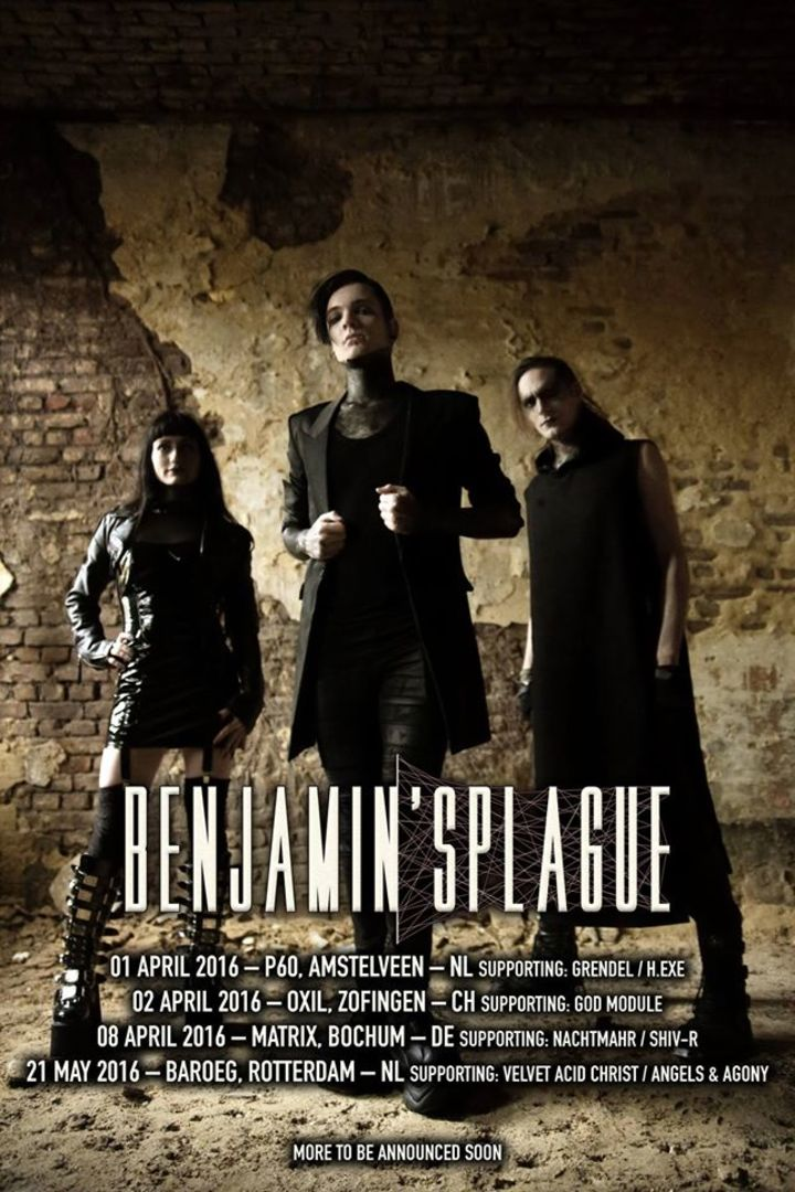 Benjamin'sPlague Music Tour Dates