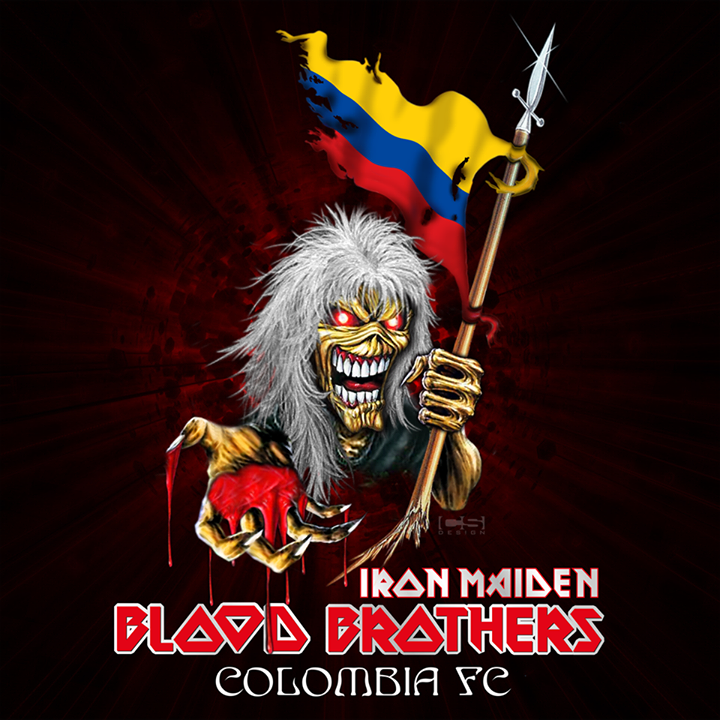 Colombian Blood Brothers - Iron Maiden Colombia Fan Club Tour Dates