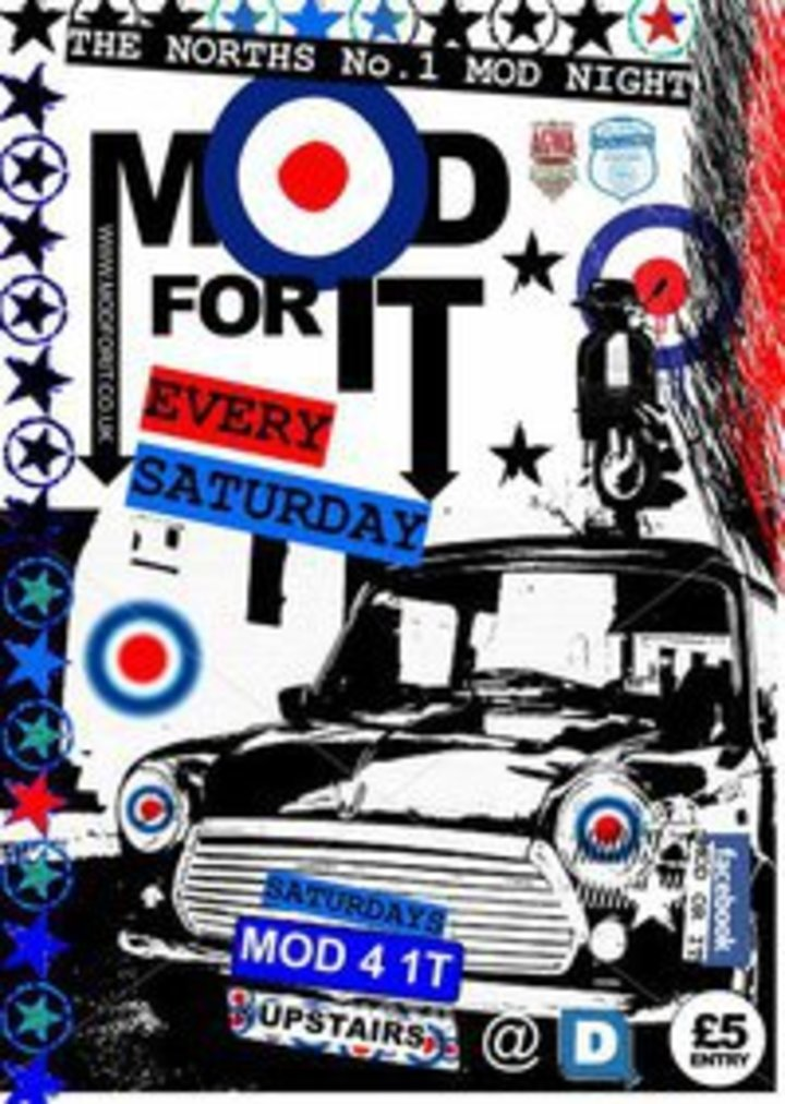 Mod For It Tour Dates