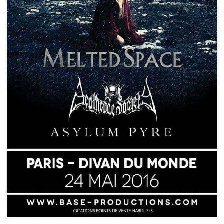 Melted Space @ GALERY MUSIC BAR - Pratteln, Switzerland