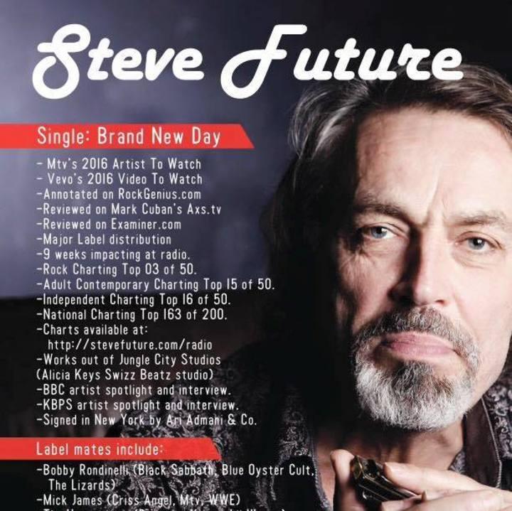Steve Future Tour Dates