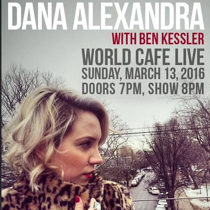 Dana Alexandra Tour Dates
