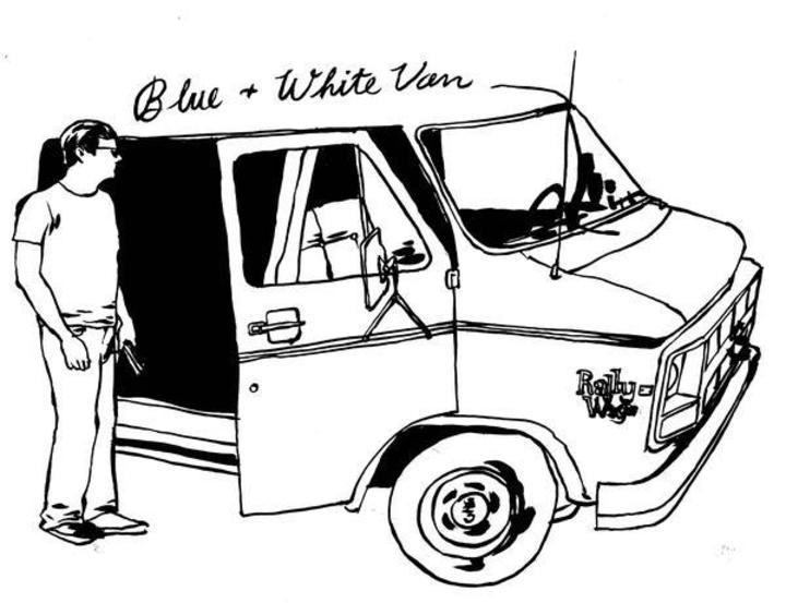 Blue & White Van Tour Dates
