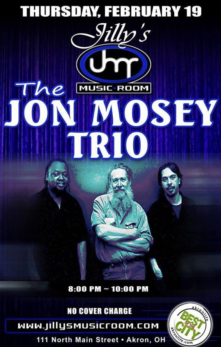 The Jon Mosey Trio Tour Dates