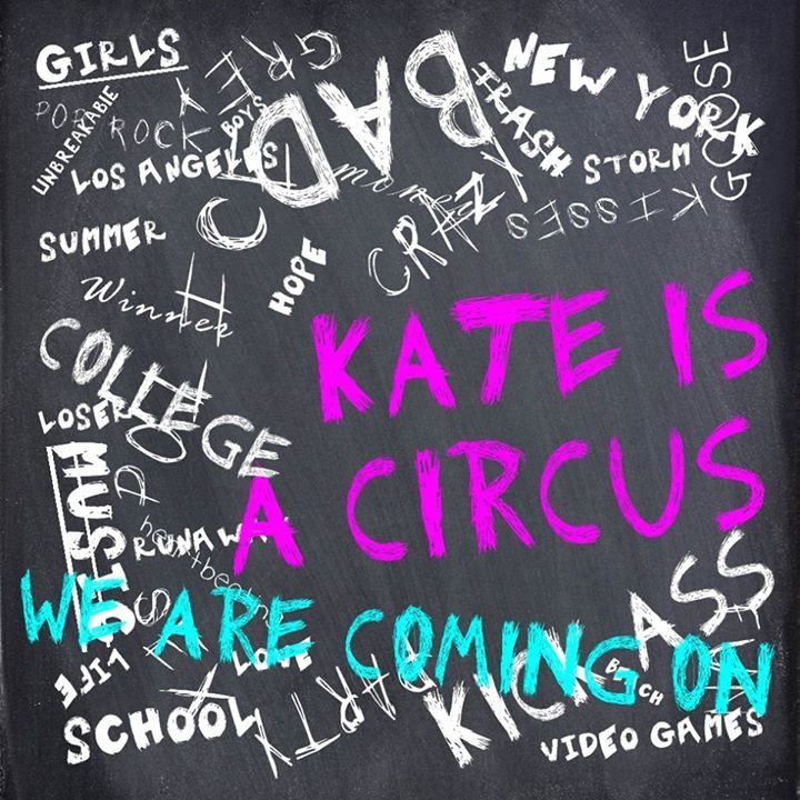 KATE is A Circus Tour Dates