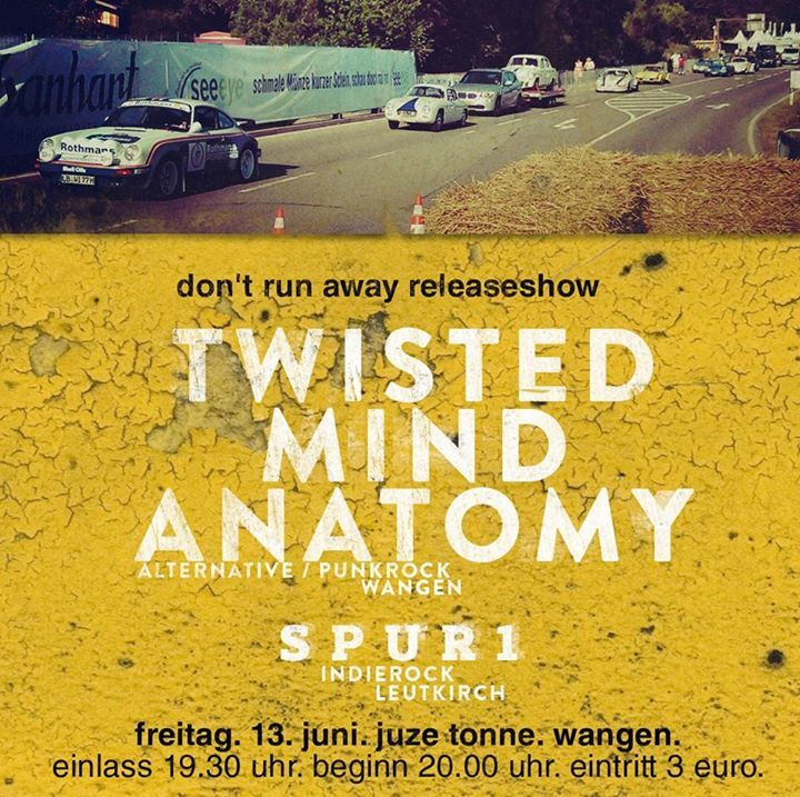 Twisted Mind Anatomy Tour Dates