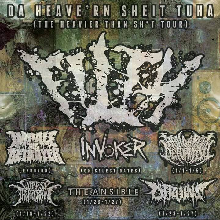Impale The Betrayer Tour Dates