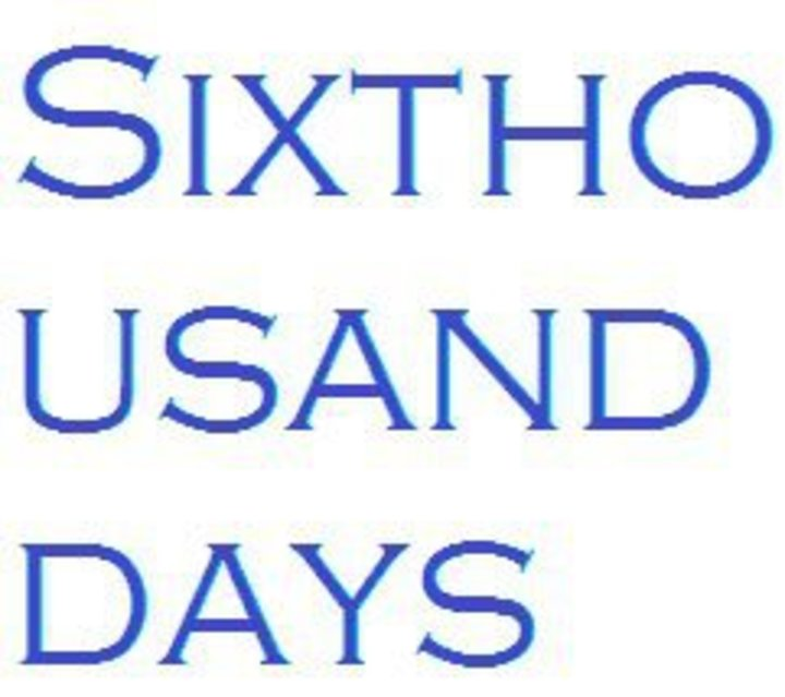 Sixthousanddays Tour Dates