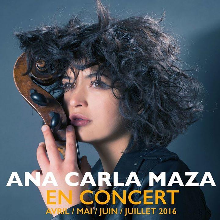 Ana Carla Maza Tour Dates