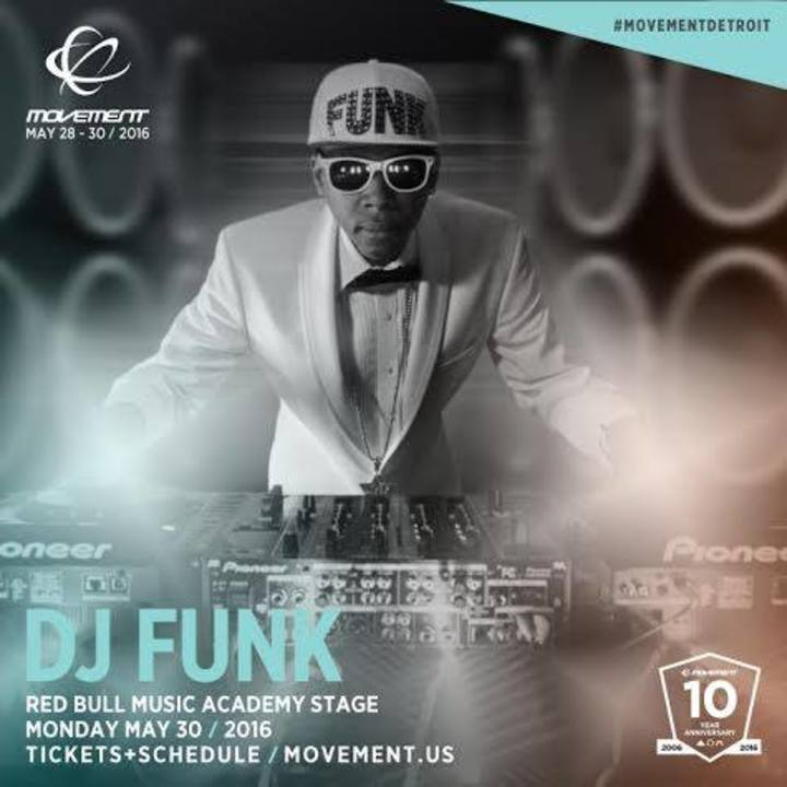 DJ Funk Tour Dates