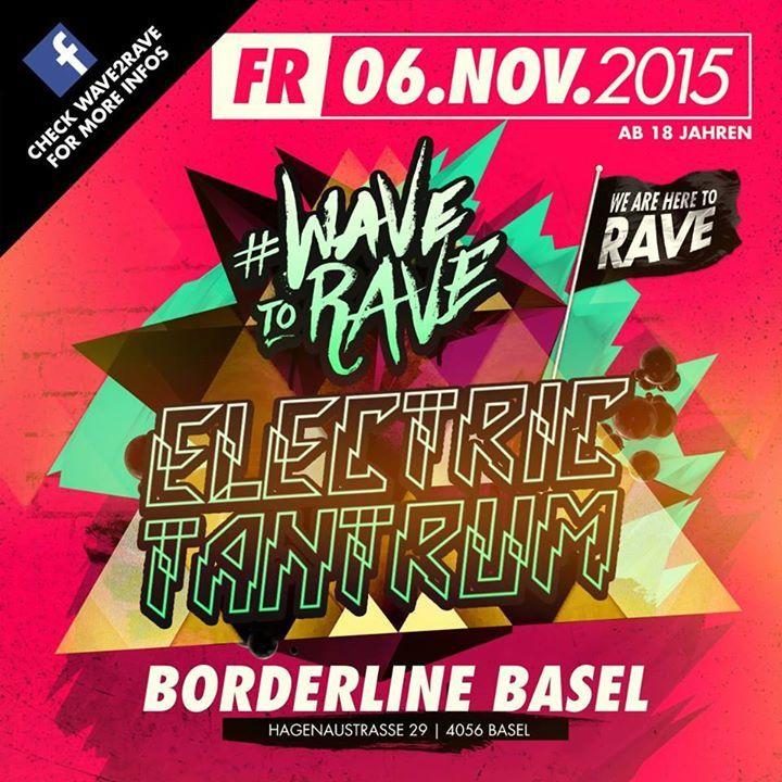 Electric Tantrum Tour Dates