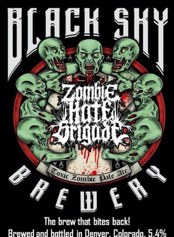 Zombie Hate Brigade Tour Dates