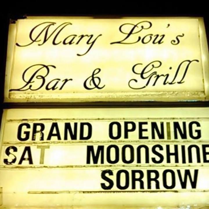 Moonshine Sorrow Tour Dates