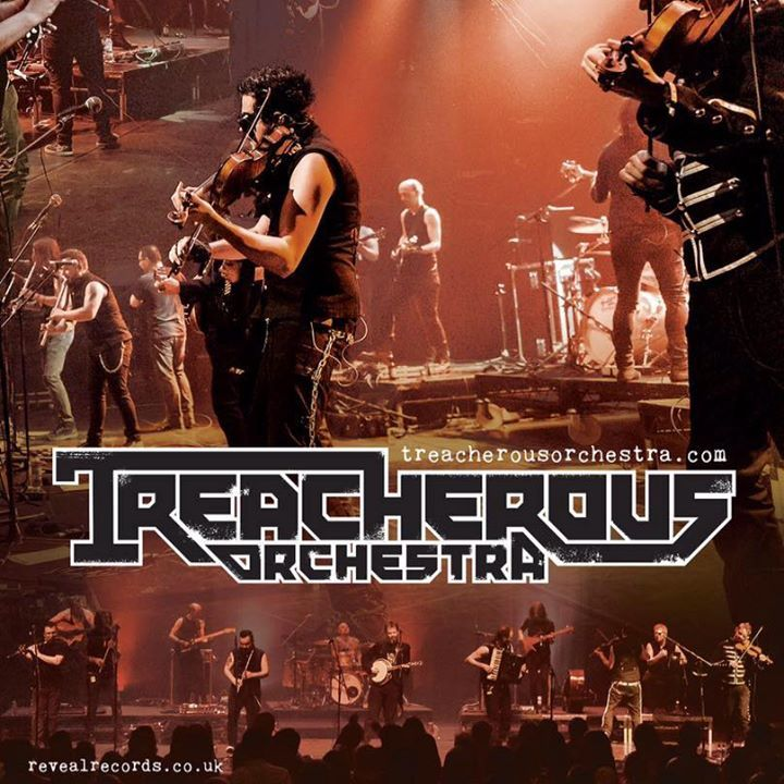 Treacherous Orchestra @ O2 ABC Glasgow - Glasgow, United Kingdom