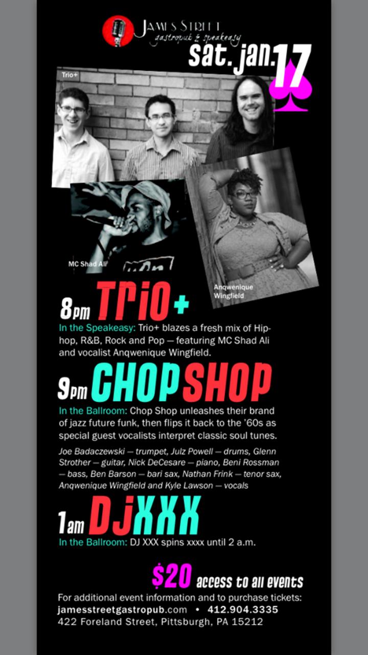 Trio+ Tour Dates