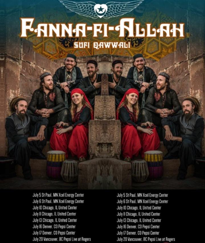 Fanna-Fi-Allah Sufi Qawwali Tour Dates