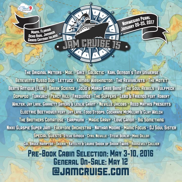 Lettuce @ Jam Cruise 15 - Miami, FL