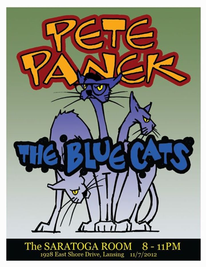 Pete Panek & The Blue Cats Tour Dates
