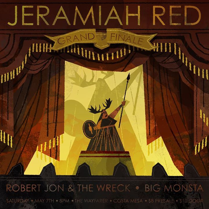 Jeramiah Red Tour Dates