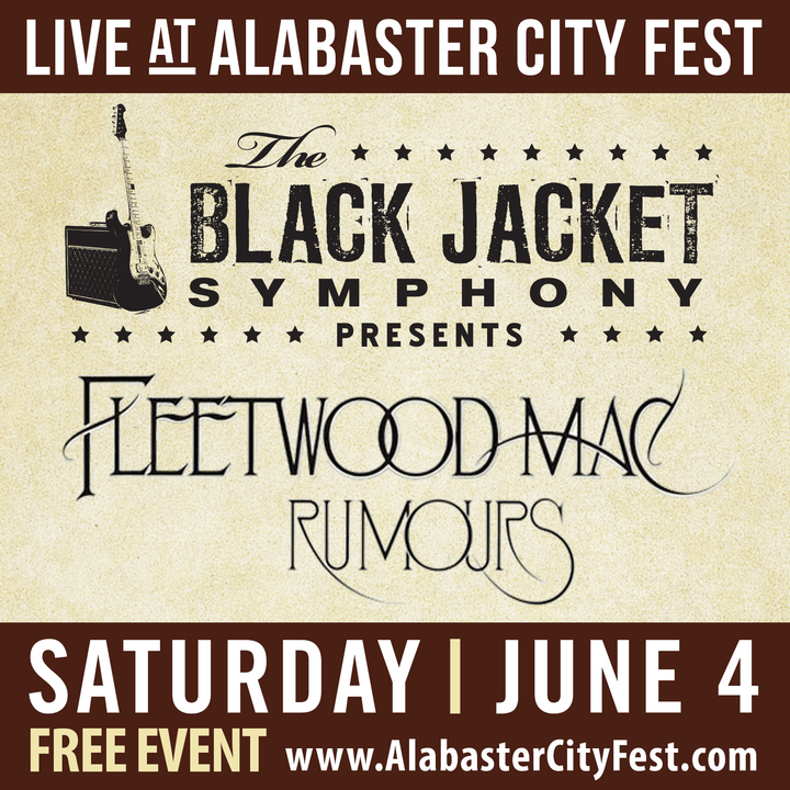 The Black Jacket Symphony - Alabaster Concert Tickets - The Black