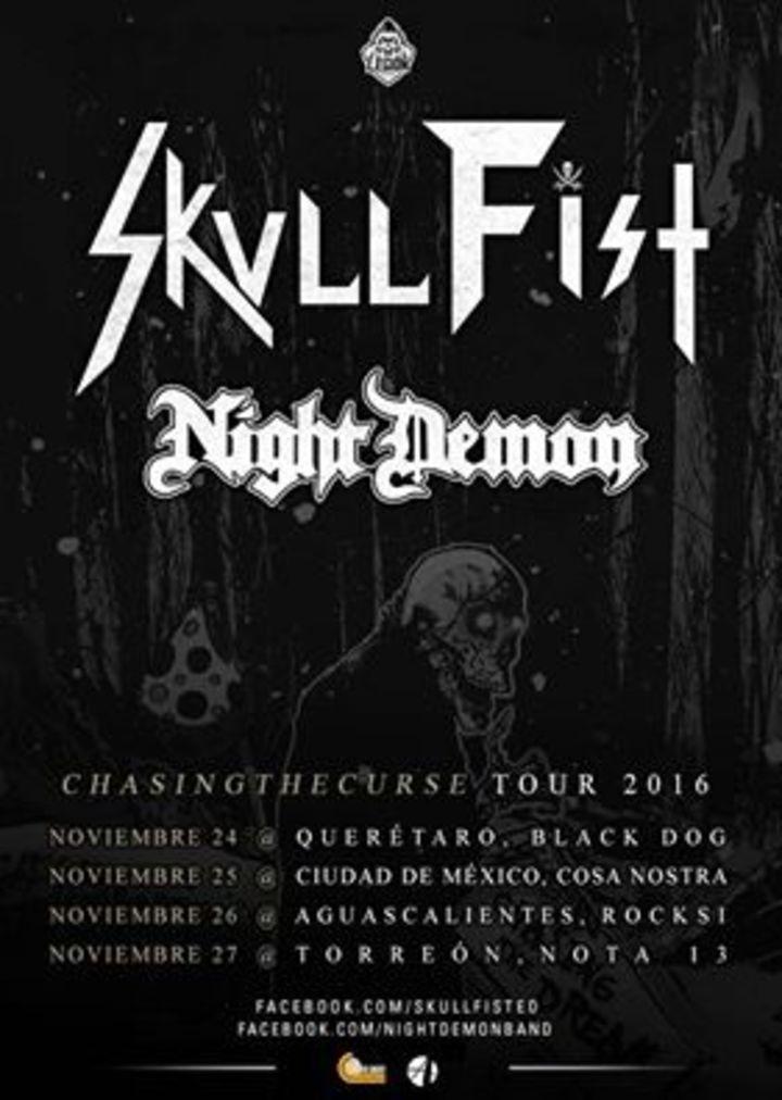 Skull Fist @ Foro Independencia - Guadalajara, Mexico