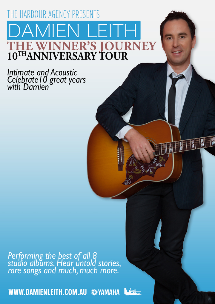Damien Leith @ Middleback Theatre - Whyalla, Australia