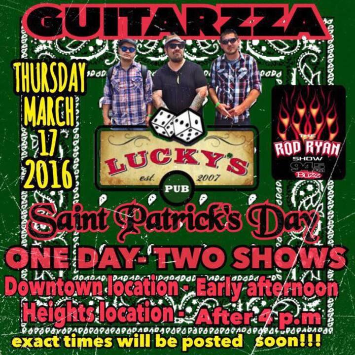 Guitarzza Tour Dates
