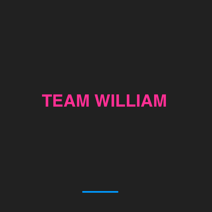 Team William Tour Dates