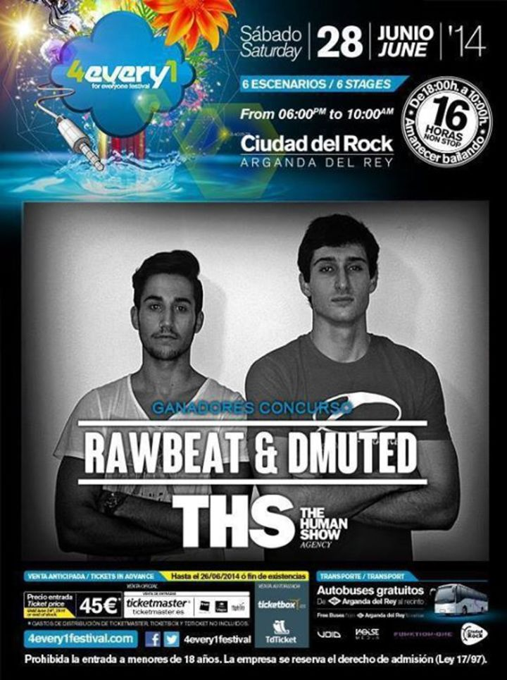 RawBeat & DMuteD Tour Dates