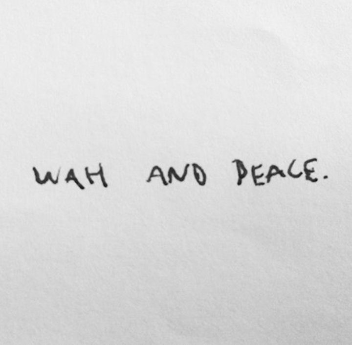 WAH and PEACE Tour Dates