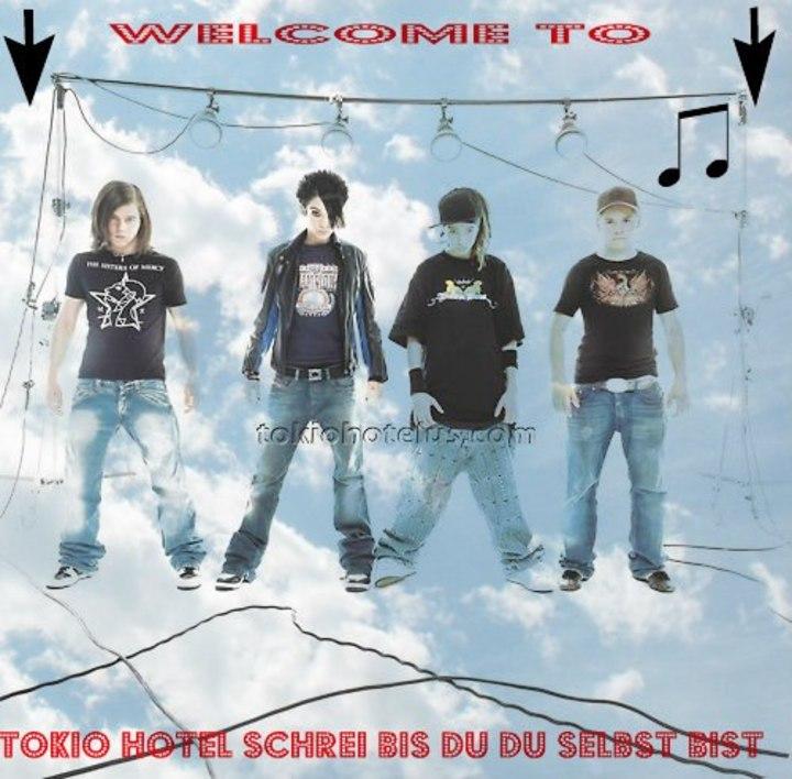 Tokio Hotel Schrei Bis du du selbst bist Tour Dates