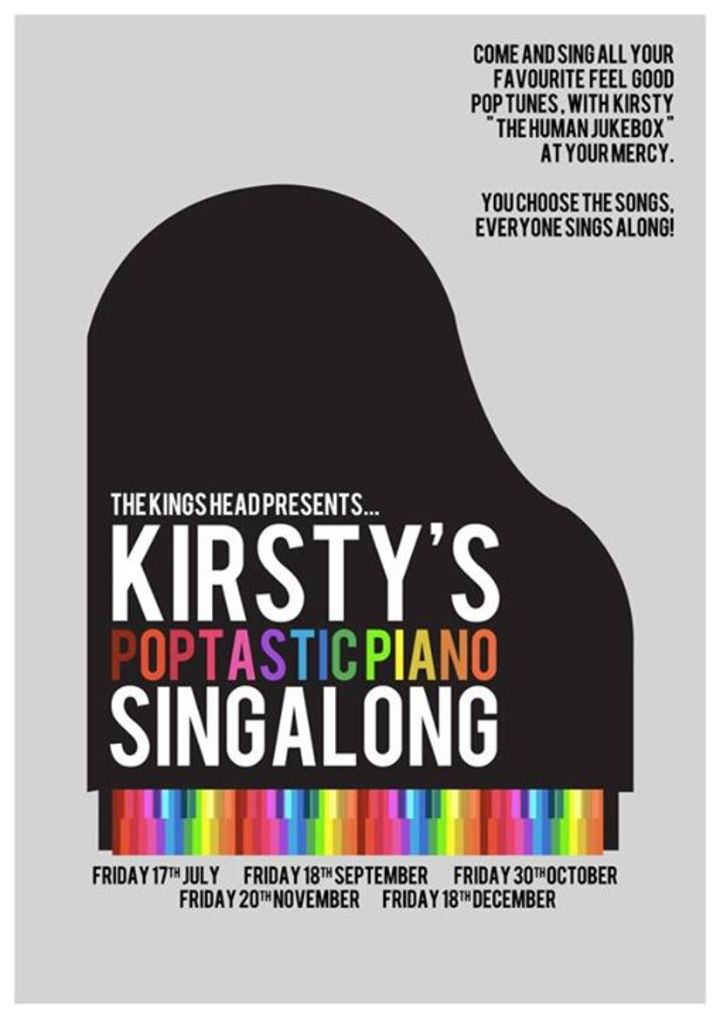 Kirsty's Poptastic Piano Singalong Tour Dates