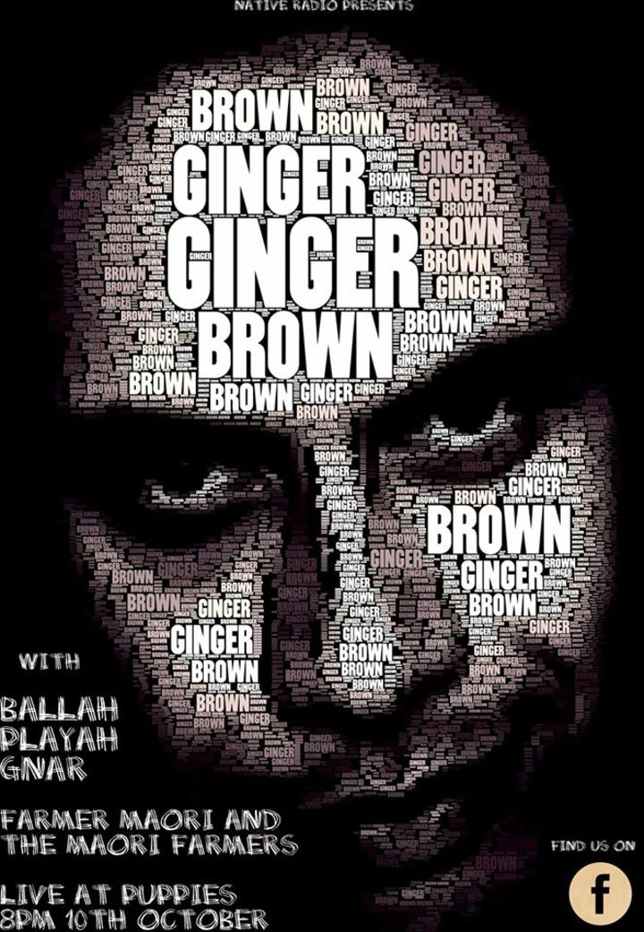 Ginger Brown Tour Dates